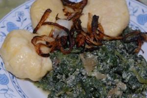 Recept na plněné bramborové knedlíky