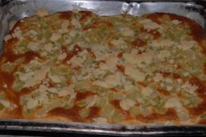 Recept na rychlý koláč z rebarbory