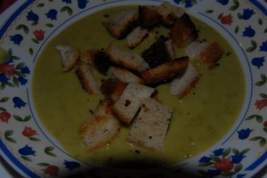 Recept na hrachovou polévku